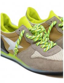 Sneaker Golden Goose Haus con dettagli fluo da uomo calzature uomo acquista online