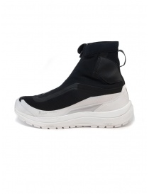 11 by Boris Bidjan Saberi black and white high-top sneakers