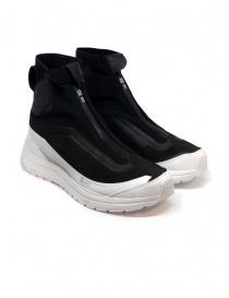Calzature uomo online: Sneakers alta 11 by Boris Bidjan Saberi nera e bianca