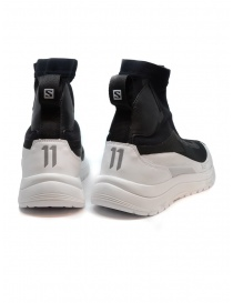 11 by Boris Bidjan Saberi black and white high-top sneakers price