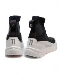 Sneakers alta 11 by Boris Bidjan Saberi nera e bianca prezzo