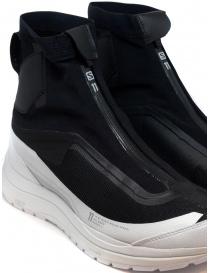 Sneakers alta 11 by Boris Bidjan Saberi nera e bianca calzature uomo acquista online