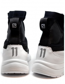 11 by Boris Bidjan Saberi black and white high-top sneakers mens shoes price