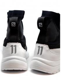 Sneakers alta 11 by Boris Bidjan Saberi nera e bianca calzature uomo prezzo