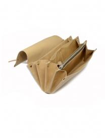 Delle Cose beige calf leather wallet wallets buy online