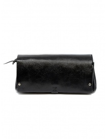 Delle Cose black calf leather wallet online