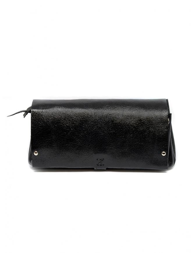 Portafoglio Delle Cose in pelle di vitello color nero 81 BABYCALF VARN. BLK portafogli online shopping