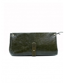 Delle Cose khaki calf leather wallet