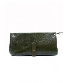 Delle Cose khaki calf leather wallet buy online