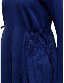 Kapital long sleeve electric blue cotton dress price
