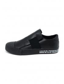Sneakers Zucca nere con banda elastica