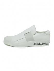 Sneakers Zucca bianche con banda elastica