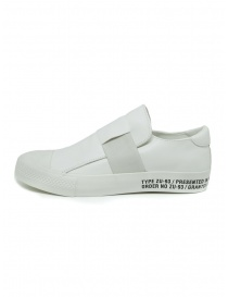 Zucca white sneakers with stretch band