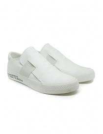 Calzature donna online: Sneakers Zucca bianche con banda elastica