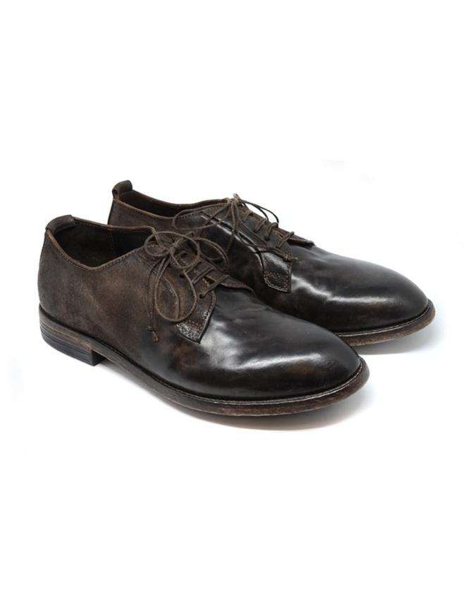 Scarpa Shoto Suede Dive 225 marrone lavato 2242 H.CUL.SUE.DIVE 225 WASHED calzature uomo online shopping