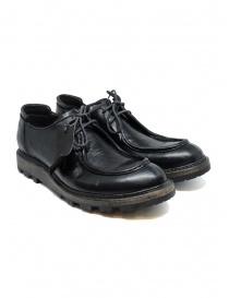 Calzature uomo online: Scarpe Shoto Nappa Wash Teton Nere