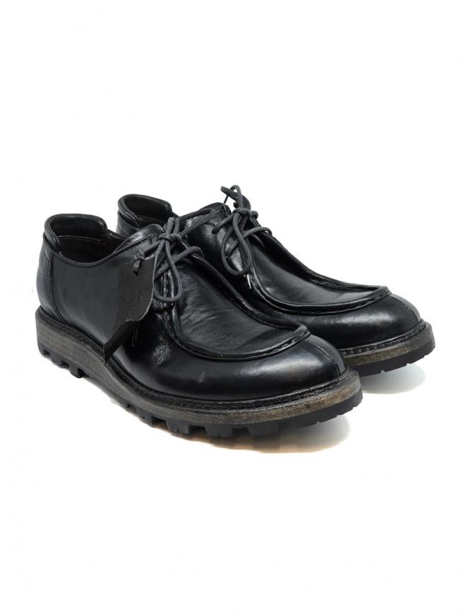 Scarpe Shoto Nappa Wash Teton Nere HORSE NAPPA BK WASH TETON calzature uomo online shopping