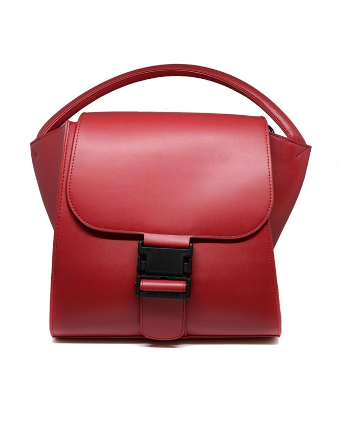 Zucca red bag with buckle ZU99AG271 RED bags online shopping