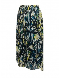 Zucca green skirt with corals