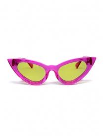 Glasses online: Kuboraum Maske Y3 Fuchsia sunglasses
