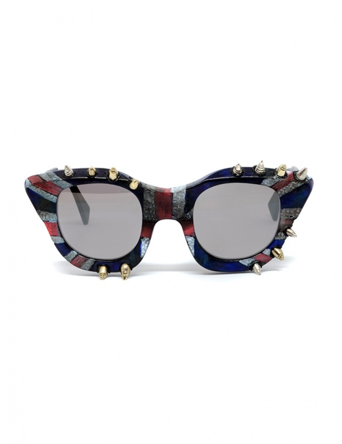 Kuboraum Maske U10 God save the Queen sunglasses U10 45-24 BM GQ Bsilver glasses online shopping