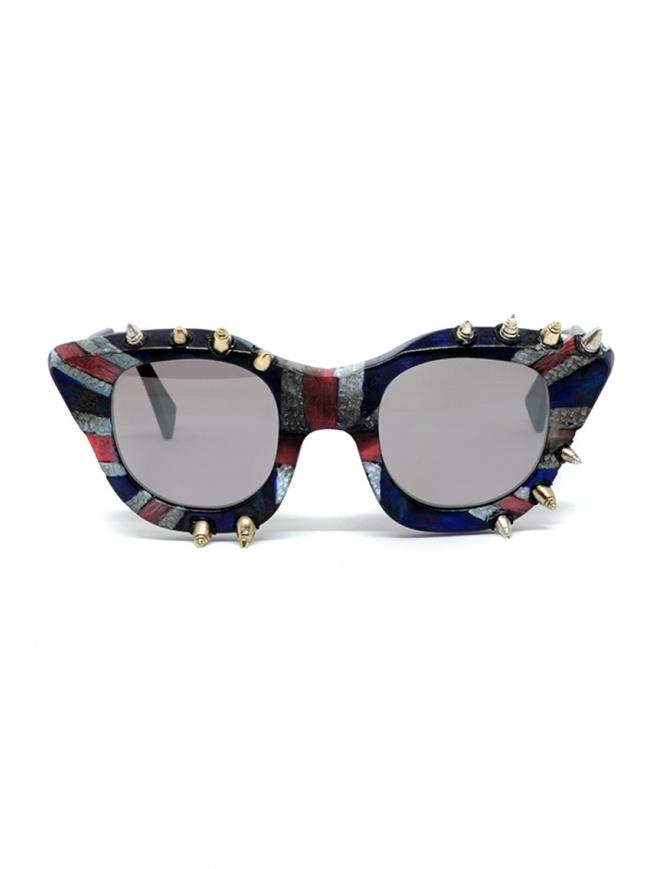 Occhiali da sole Kuboraum Maske U10 God save the Queen U10 45-24 BM GQ Bsilver occhiali online shopping