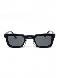 Glasses online: Kuboraum Maske N8 Black Matt sunglasses