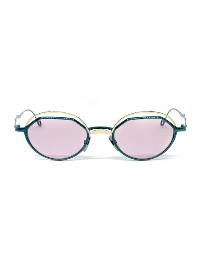 Occhiali da sole Kuboraum Maske H70 Metallic Teal H70 49-20 OG PINK occhiali online shopping