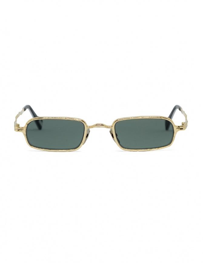 Occhiali da sole Kuboraum Maske Z18 Gold Z18 48-22 GD greygreen occhiali online shopping