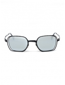 Glasses online: Kuboraum Maske H22 Black sunglasses