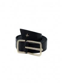 Cintura M.A+ nera con croci traforate