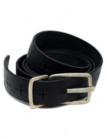 Cintura M.A+ nera con croci traforate EG2D GR 3.0 BLACK order online
