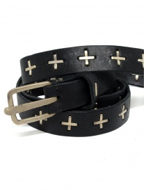 Belts online: M.A+ black belt with silver crosses
