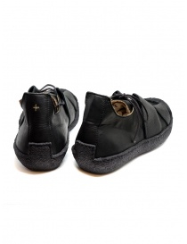 M.A+ sneaker in black leather with rough sole price