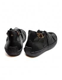 Sneaker M.A+ in pelle nera con suola ruvida prezzo