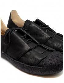 Sneaker M.A+ in pelle nera con suola ruvida calzature uomo acquista online
