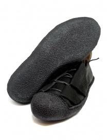 Sneaker M.A+ in pelle nera con suola ruvida calzature uomo prezzo