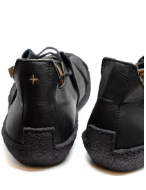 M.A+ sneaker in black leather with rough sole buy online price