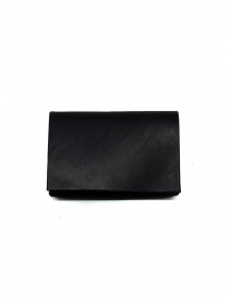 M.A+ black small black leather wallet online