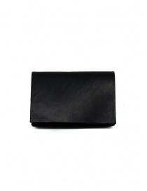Portafogli online: Portamonete M.A+ nero piccolo in pelle