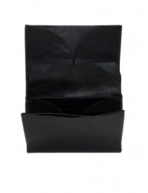 M.A+ by Maurizio Amadei black medium leather wallet online