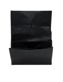 Portafogli online: Portamonete M.A+ nero medio in pelle