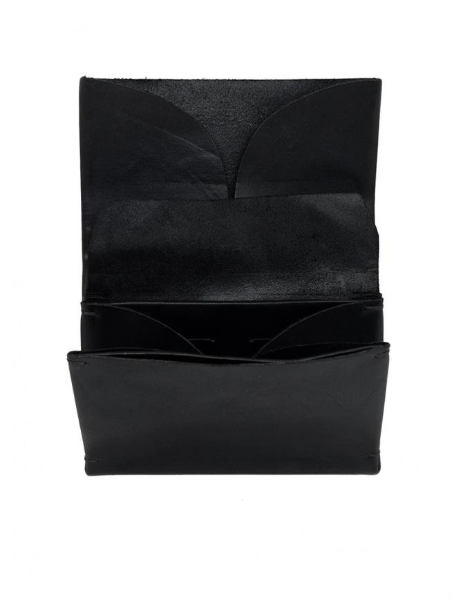 Portamonete M.A+ nero medio in pelle W9 VA 1.0 BLACK portafogli online shopping