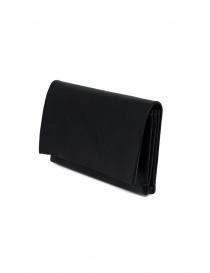 Portamonete M.A+ nero medio in pelle portafogli acquista online