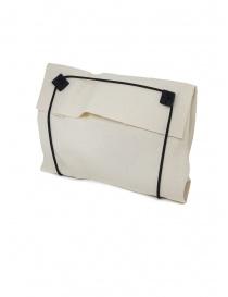 Borsetta M.A+ a conchiglia in pelle rossa con lacci B703 acquista online prezzo