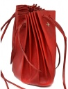 M.A+ shell handbag in red leather with laces B703 B703 MAVA 1.0 HIGH RISK RED buy online