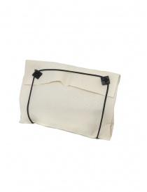 Borsetta B703 M.A+ a conchiglia in pelle nera con lacci acquista online prezzo