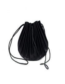 M.A+ black B703 shell bag with laces online