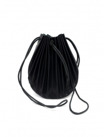 M.A+ black B703 shell bag with laces bags buy online