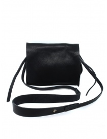 M.A+ black shoulder bag with flap online